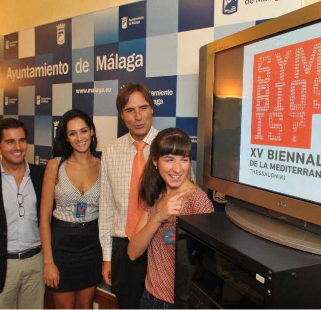 Dos antiguas alumnas en la XV Bienal de Jóvenes Creadores de Europa y del Mediterráneo