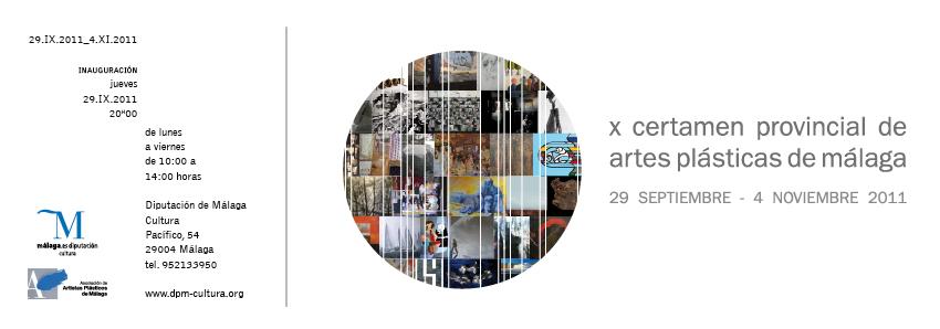 X Certamen Provincial de Artes Plásticas de Málaga
