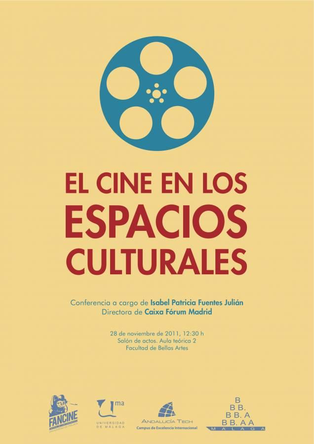 Conferencia de Isabel Patricia Fuentes Julián sobre el cine en los espacios culturales