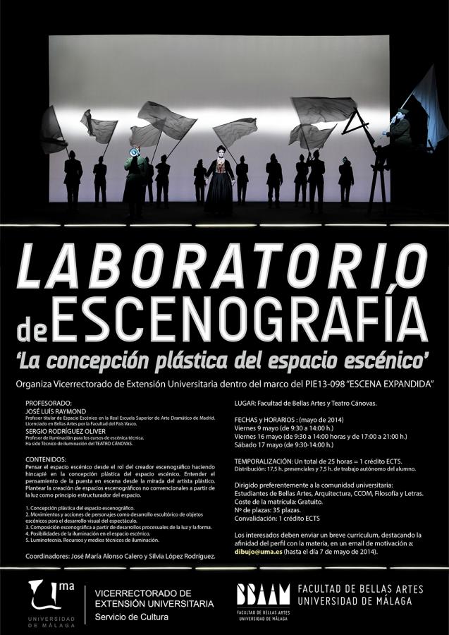 Laboratorio de Escenografía: \'La concepción plástica del espacio ...