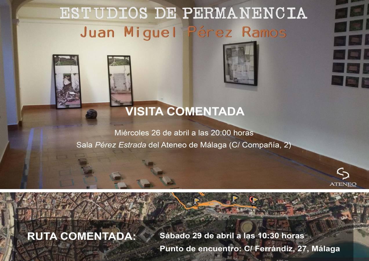 """Exposición """"Estudios de permanencia"""" de Juan Miguel Pérez Ramos ..."""