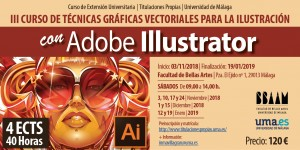 Flyer Curso Illustrator