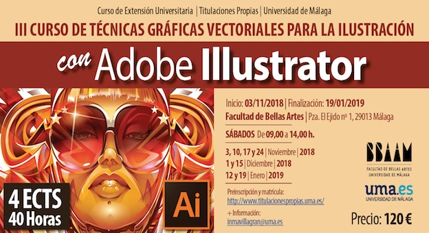 Flyer Curso Illustrator