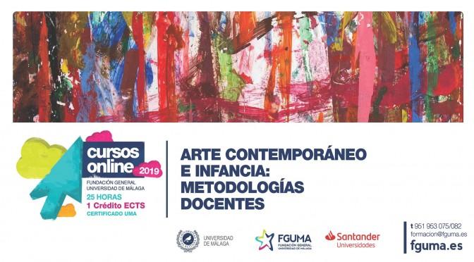 """Curso on-line: """"Arte contemporáneo e infancia: metodologías docentes"""""""