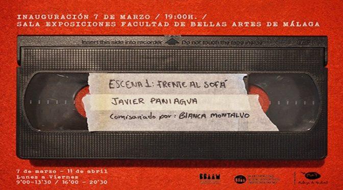 """Exposición: """"Escena 1: Frente al sofá"""", de Javier Paniagua. 7 /03/19, 19:00. Sala de Exposiciones bb.aa."""