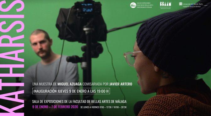 """Inauguración de la exposición: """"Katharsis"""" de Miguel Azuaga. 9/01/2020, 19:00. Sala de Exposiciones de la Facultad de Bellas Artes de Málaga."""