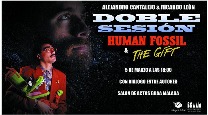 """Doble Sesión de Cine: """"Human Fossil"""" de Alejandro Cantalejo / """"The Gift"""" de Ricardo León. 5/03/20, 18:00. Salón de Actos BB.AA."""